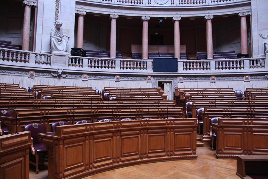 Fotografia do Parlamento para ilustrar os conteúdos Política PAN a nível parlamentar.