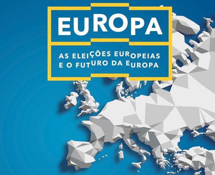 Imagem de divulgação do evento sobre as Europeias 2019