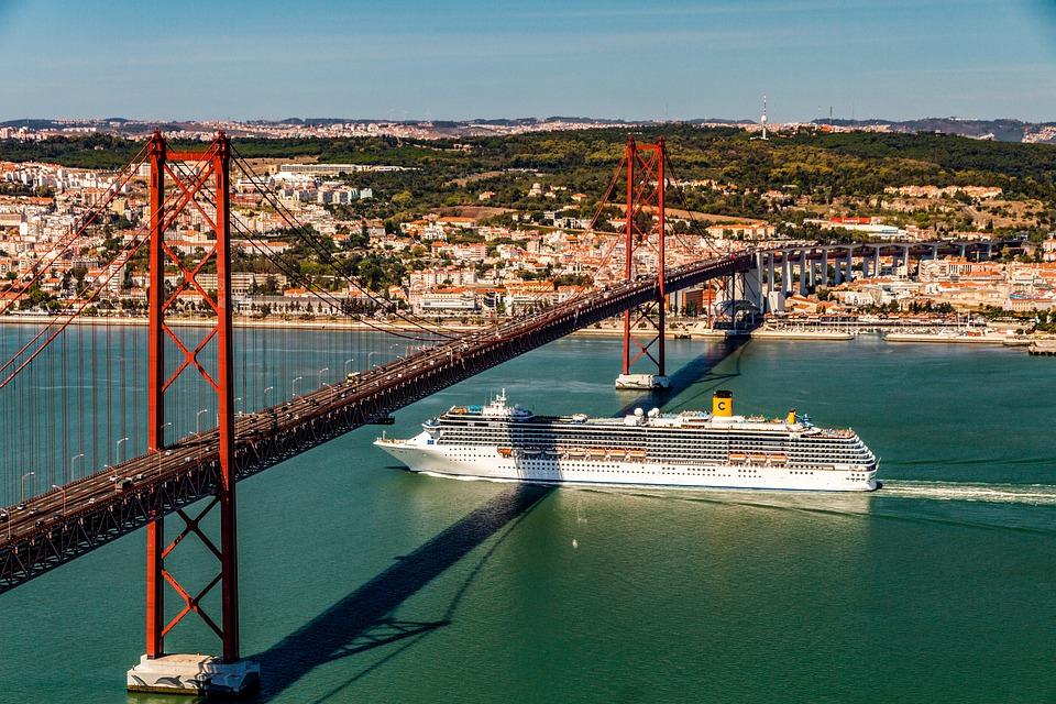 Poluição Navios Cruzeiro Lisboa