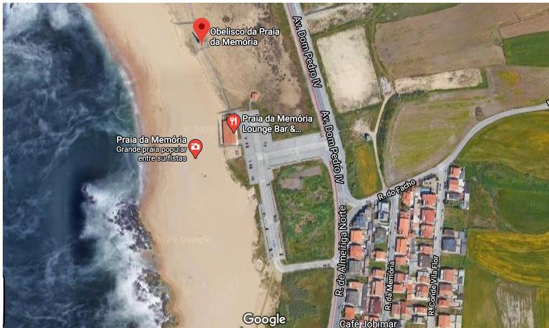 Praia Memória Matosinhos