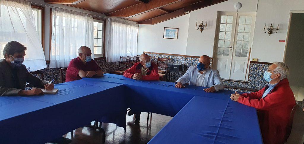 PAN/Açores em reunião com a Santa Casa da Misericórdia da Ribeira Grande