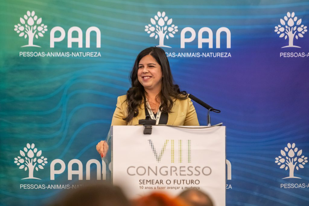 Inês de Sousa Real no VIII Congresso do PAN