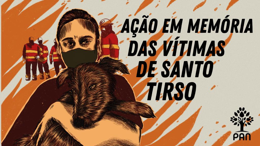 Ação em memória dos animais de Santo Tirso